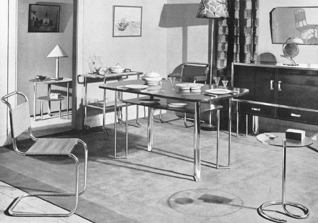 Bauhaus Furniture at Heals 1935
