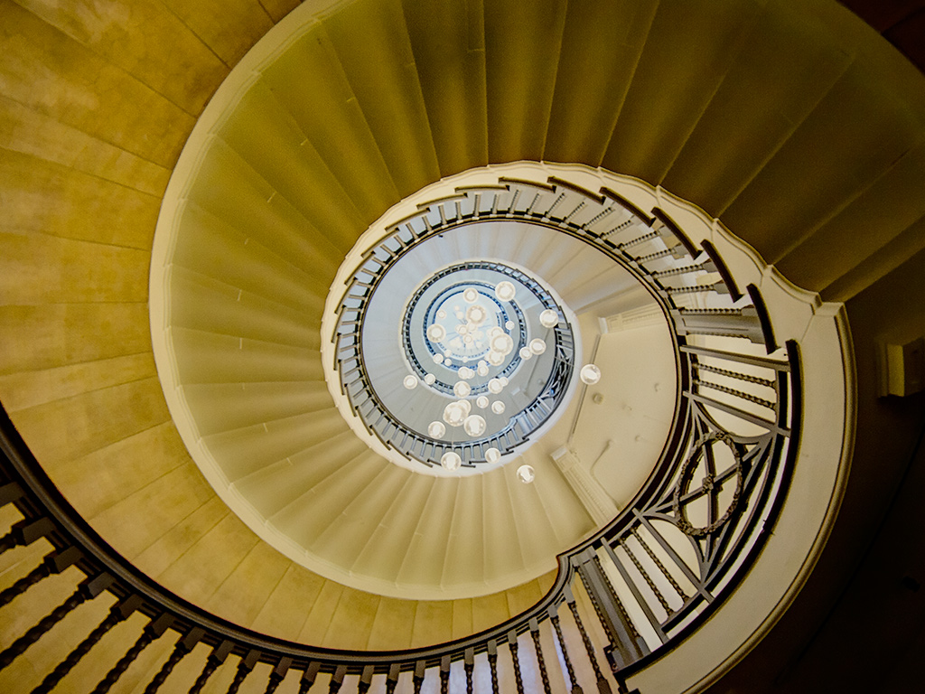 Cecil Brewer Staircase London