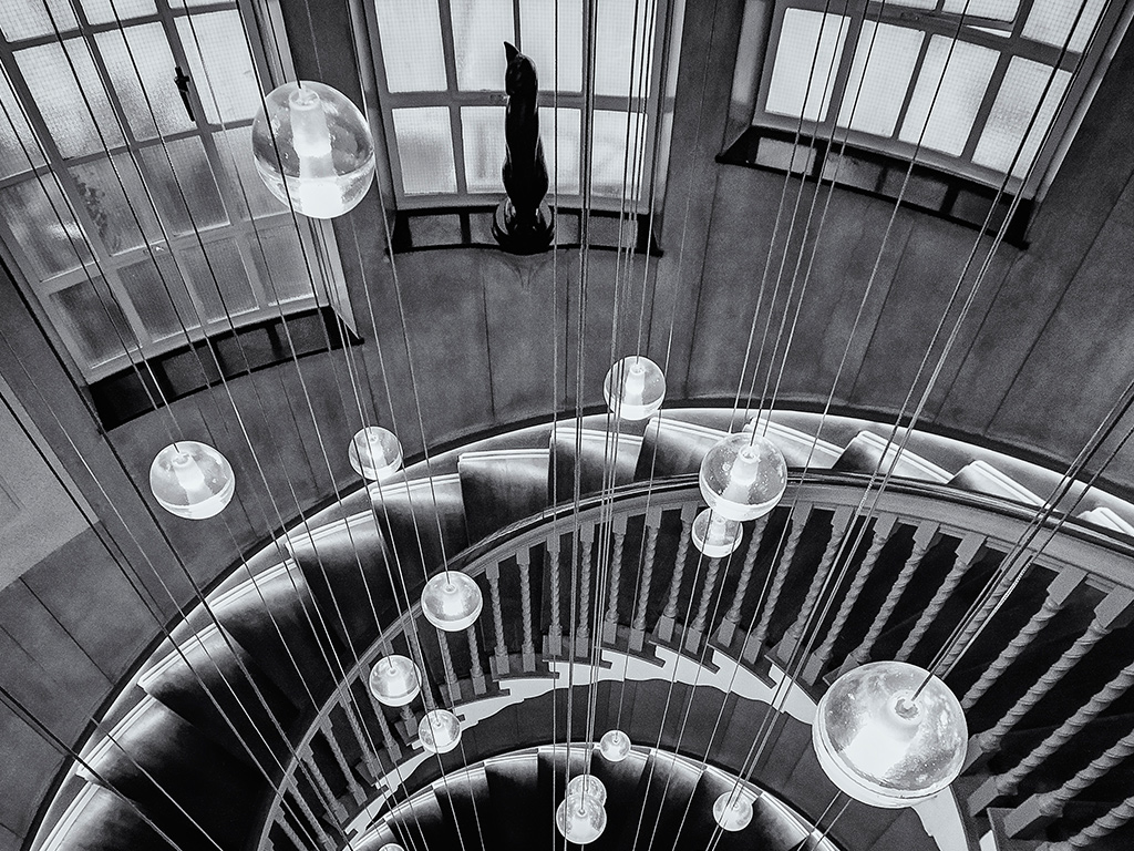 Cec il Brewer Staircase, Sprial Staircase London