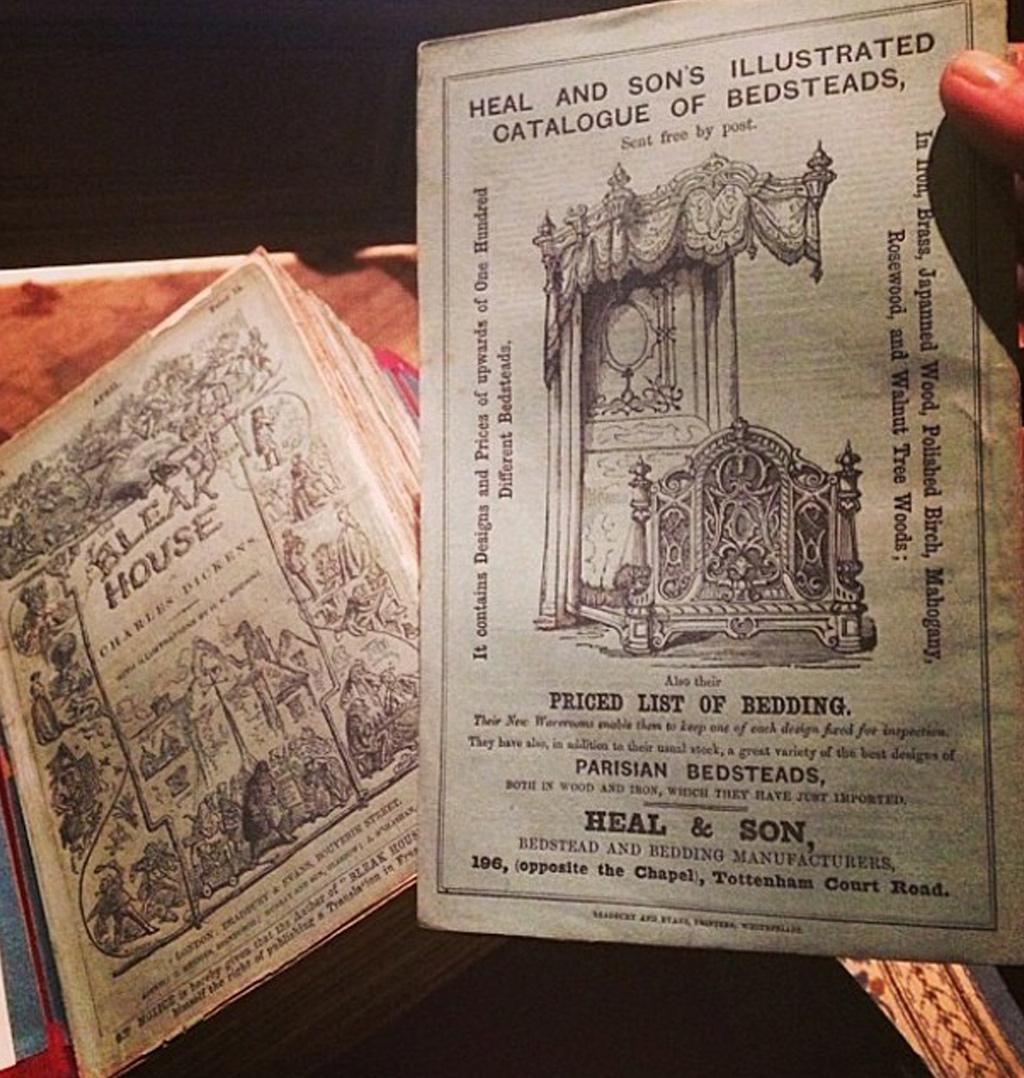 Charles Dickens Bleak House Advertising