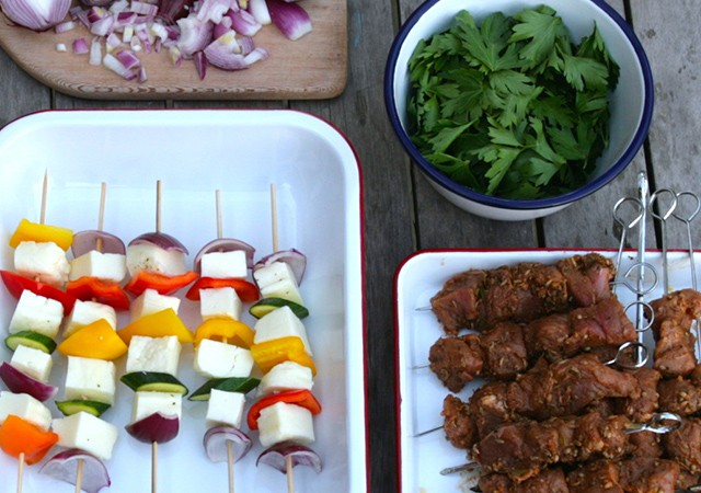 Summer BBQ Recipes by Pascale Smets