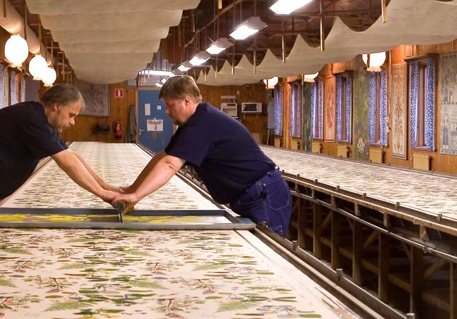 Jobs Handtryck Swedish Fabrics and Textiles