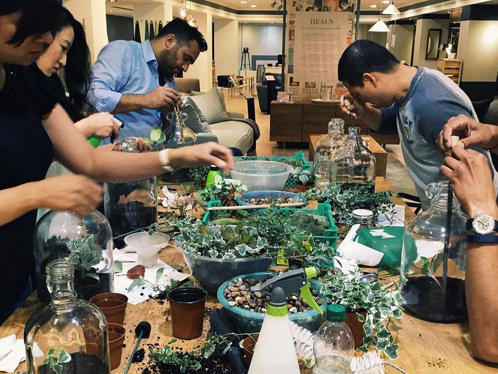 Terrarium Workshop London
