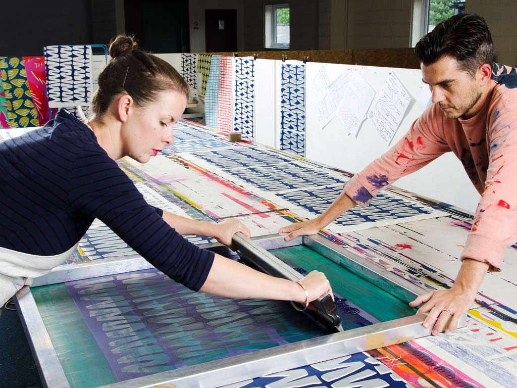 Sunny Todd Screen Printed Textiles