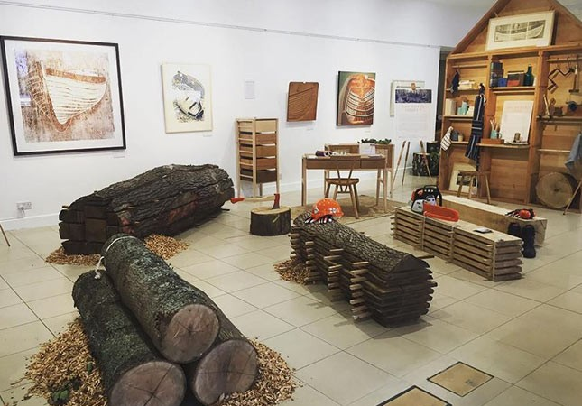 Messums Gallery,James Dodd Artist, Celebration of Wood,