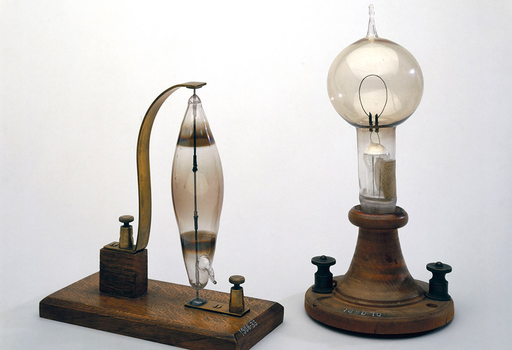 First Electric Light Bulb by Joseph Swan