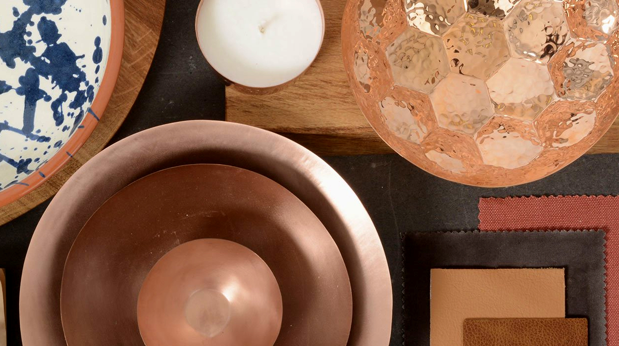 Living with colour copper