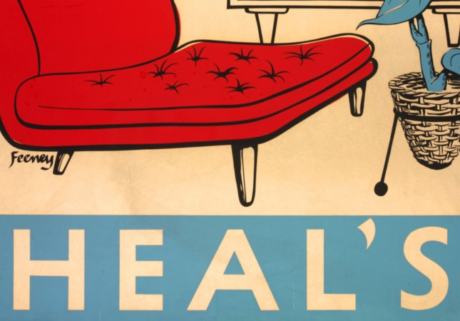 Charles Feeney Heal's Posters