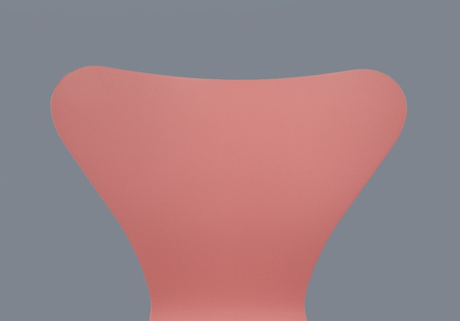 series 7 chair pink