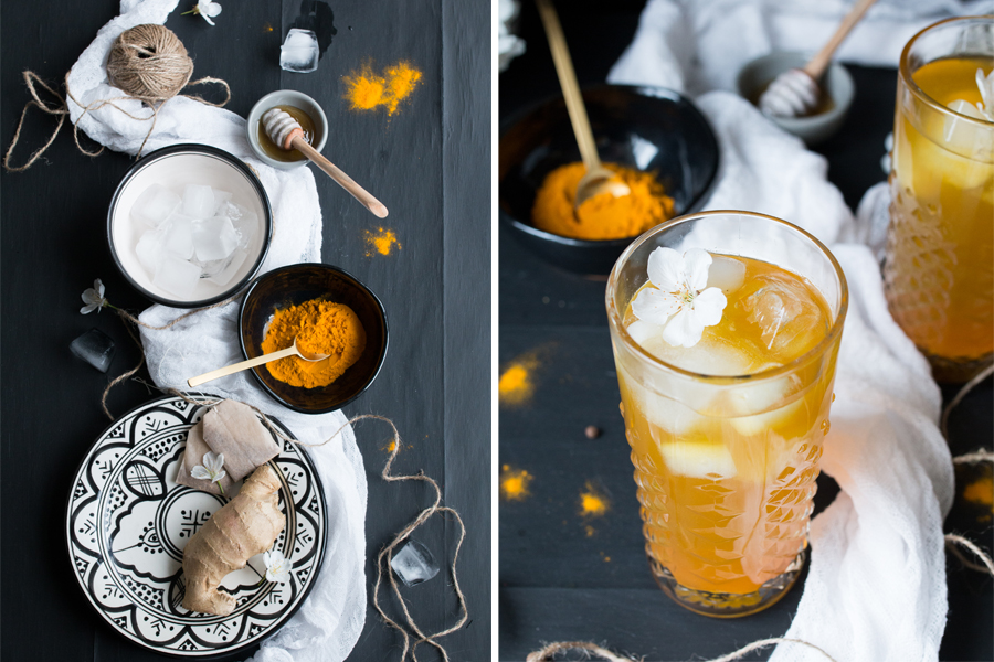 The Little Plantation Tumeric Iced Tea