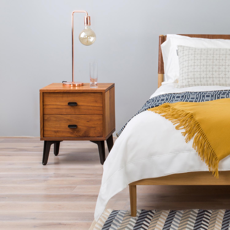Heal S Nordic Bed Matthew Hilton Hepburn Bedside Table Ideas