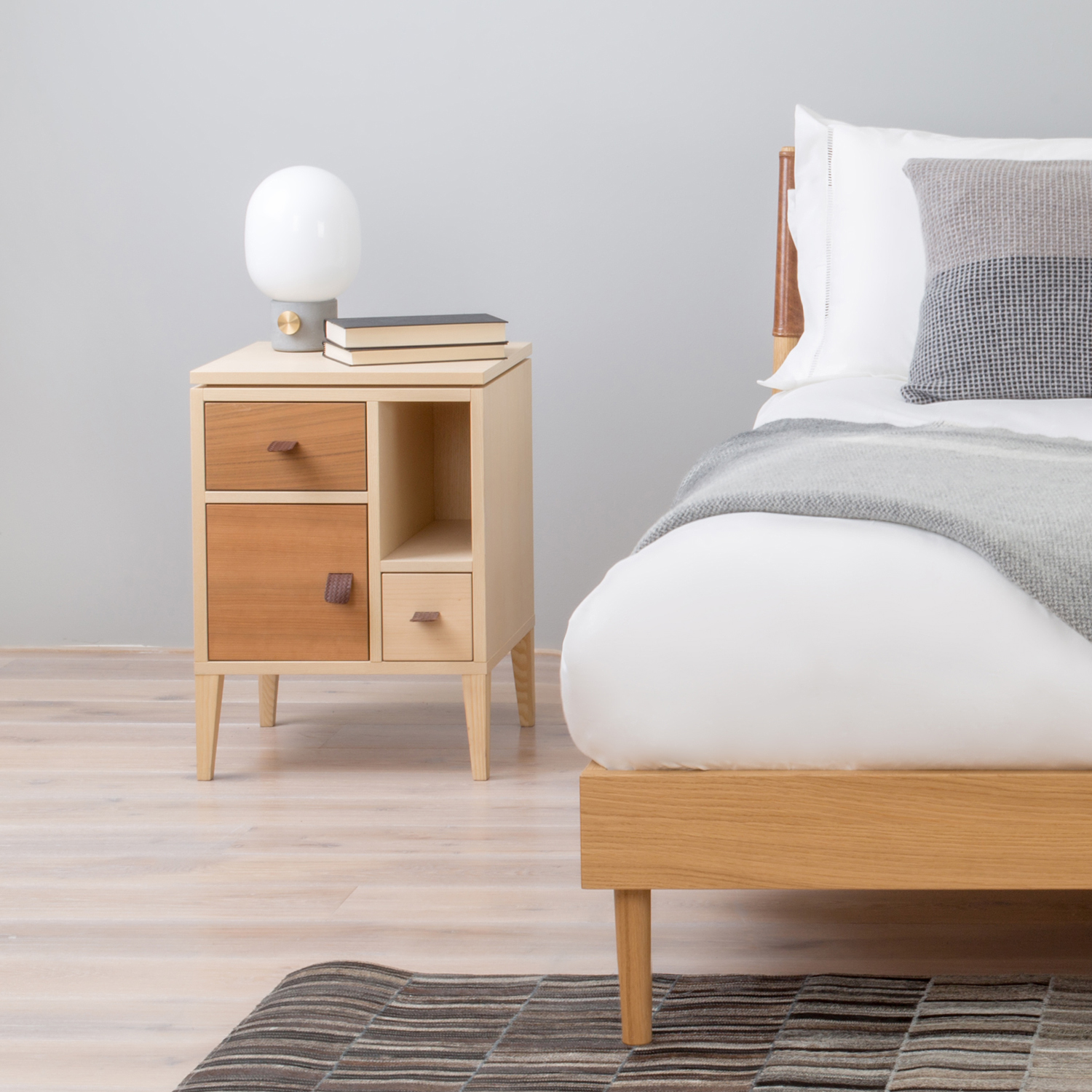 Sleep sideways six bedside tables to inspire heal 39 s blog for Bedroom table