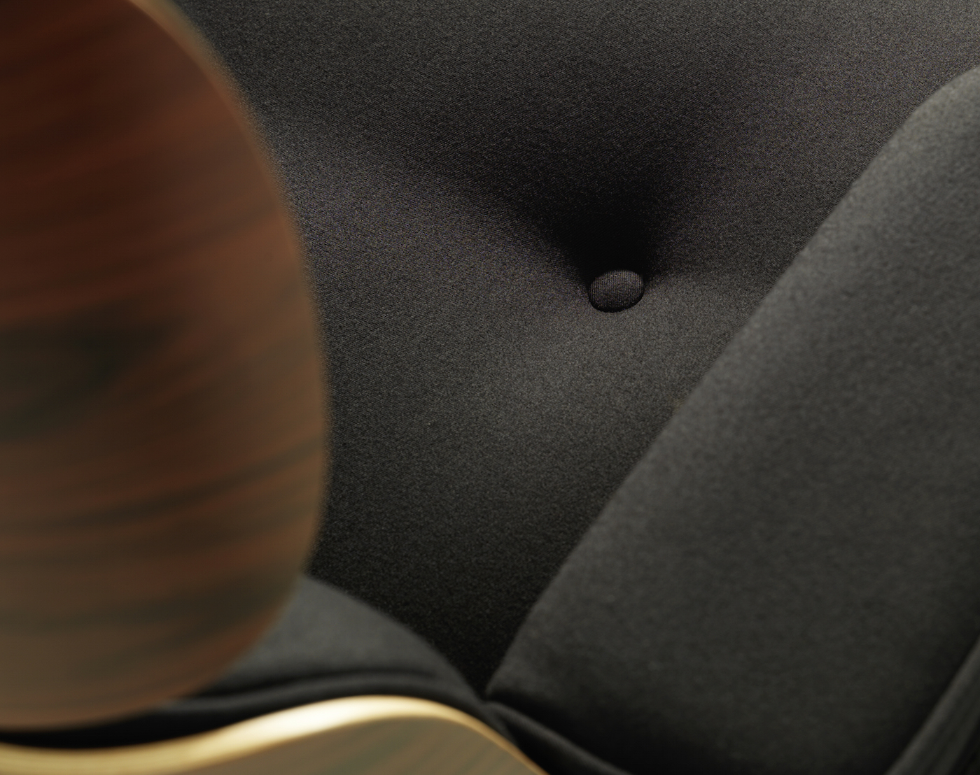 Heal's Eames Lounge Chair Limited Edition Twill Fabric