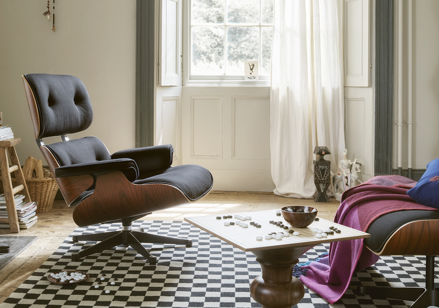 Picture of: The Eames Lounge Chair 60th Anniversary Edition