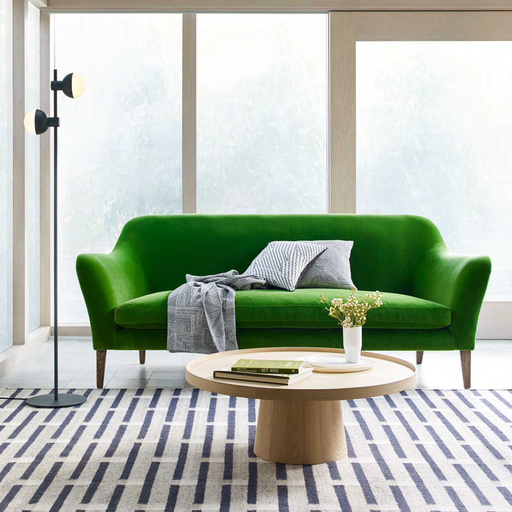 living with colour go green for with our new collection