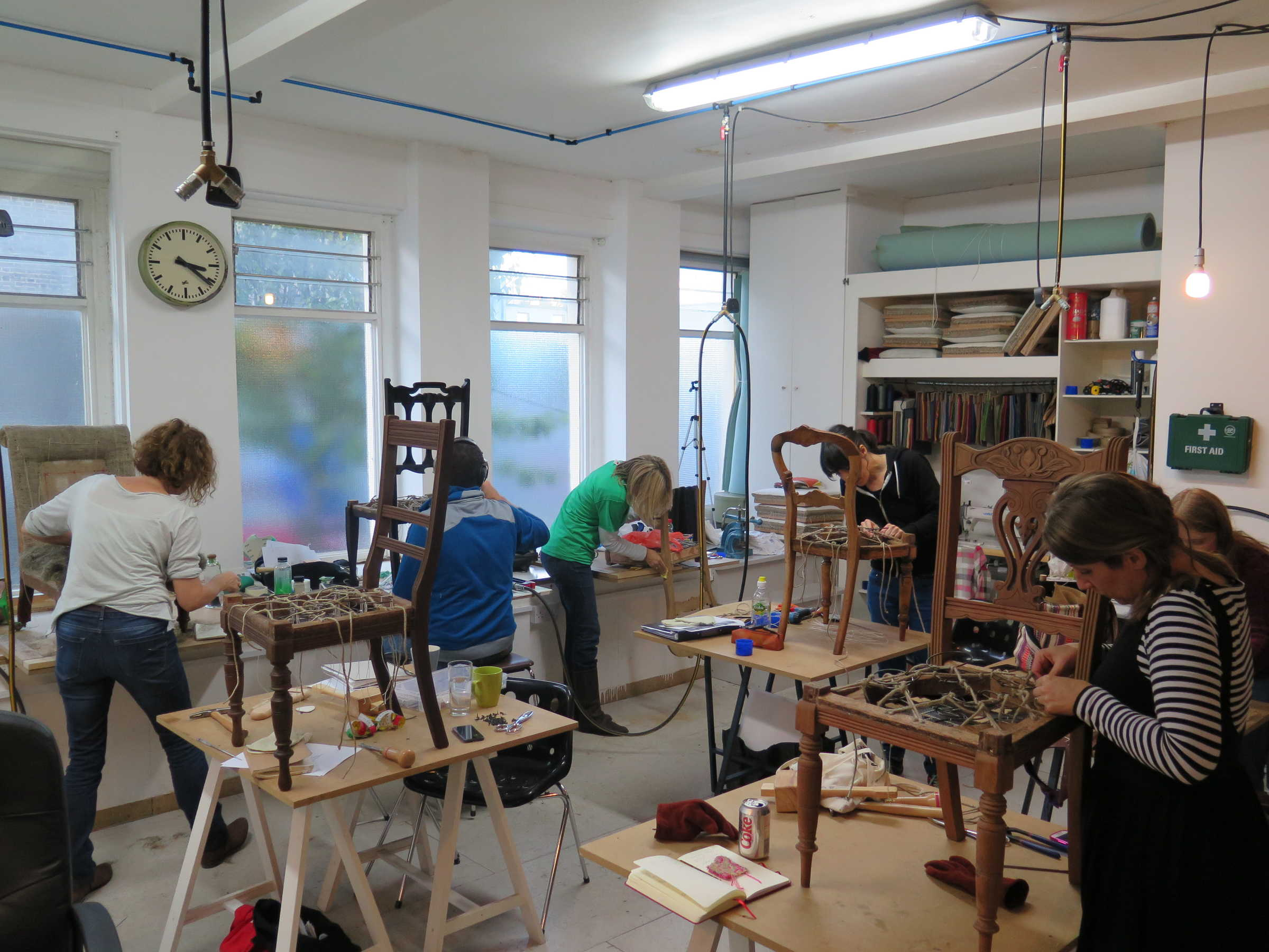 Modern Furniture Workshop made in london: the heal's modern craft market returns! - heal's blog