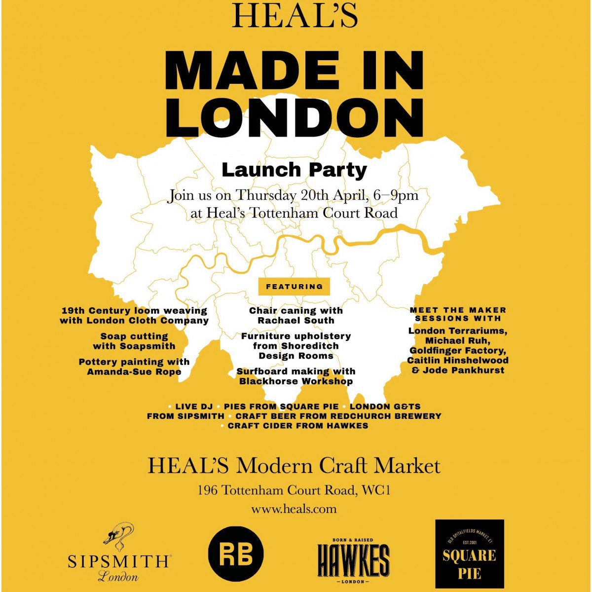 Heals-made-in-london-launch-party