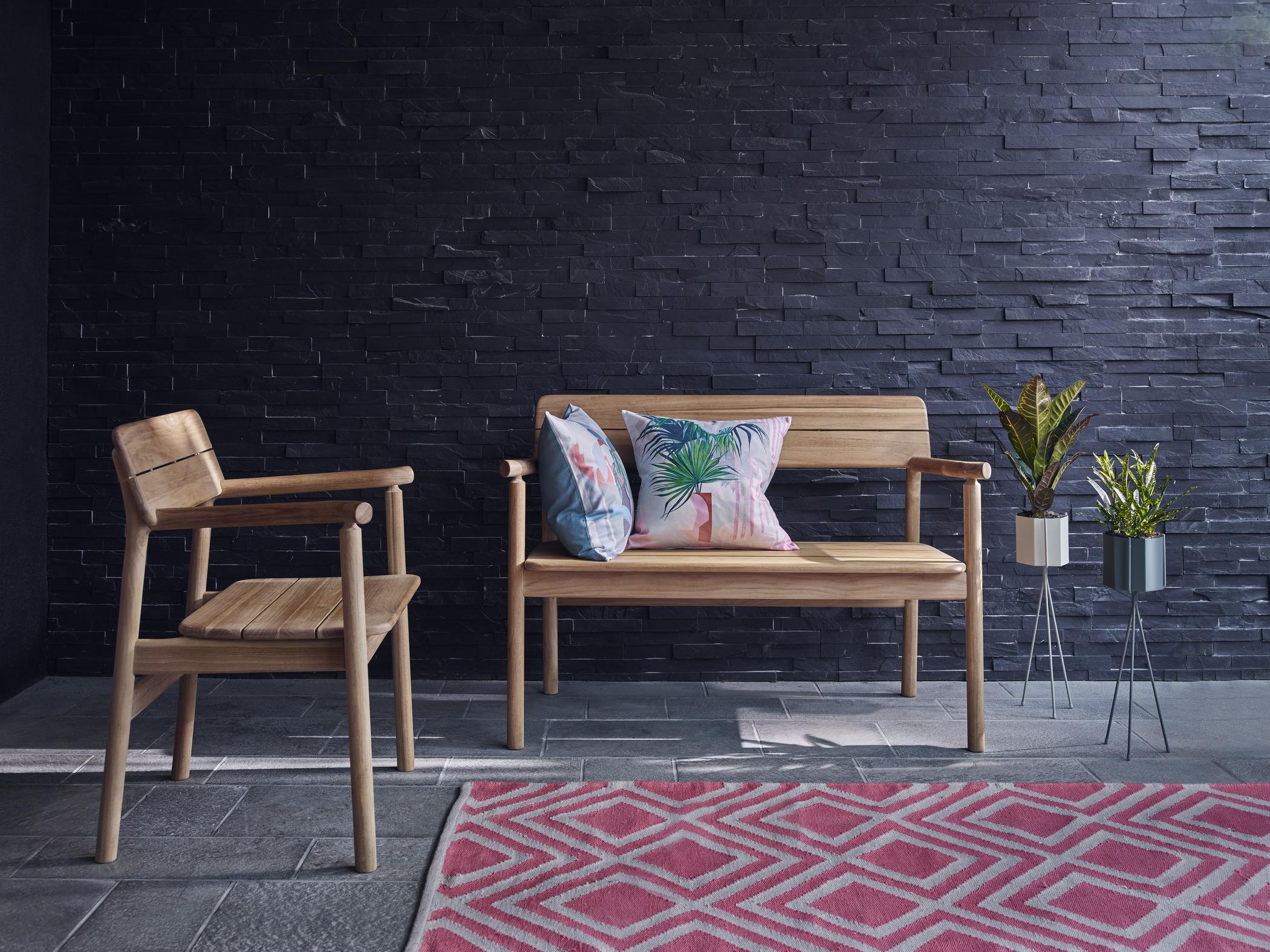 Japandi garden furniture