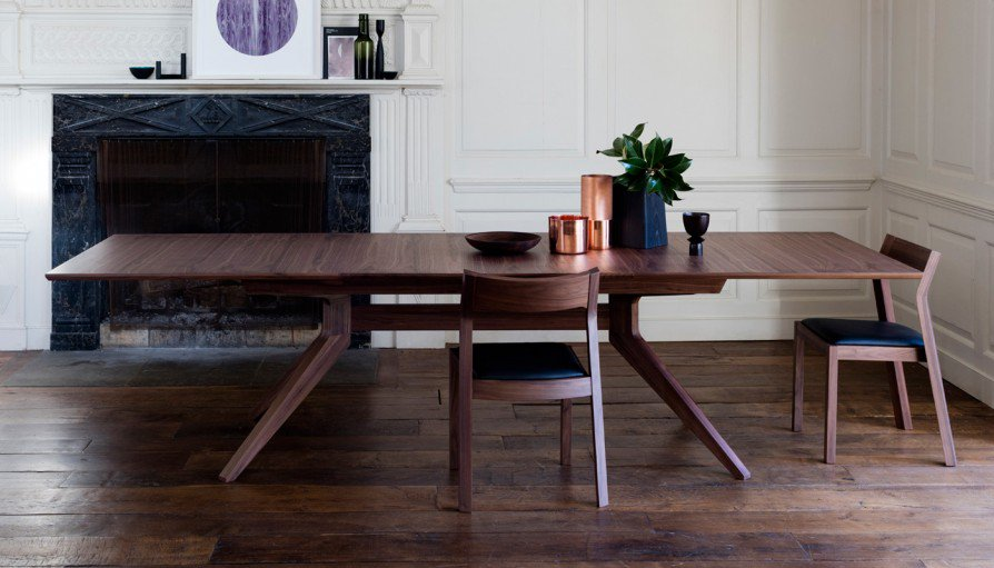 Japandi dining table