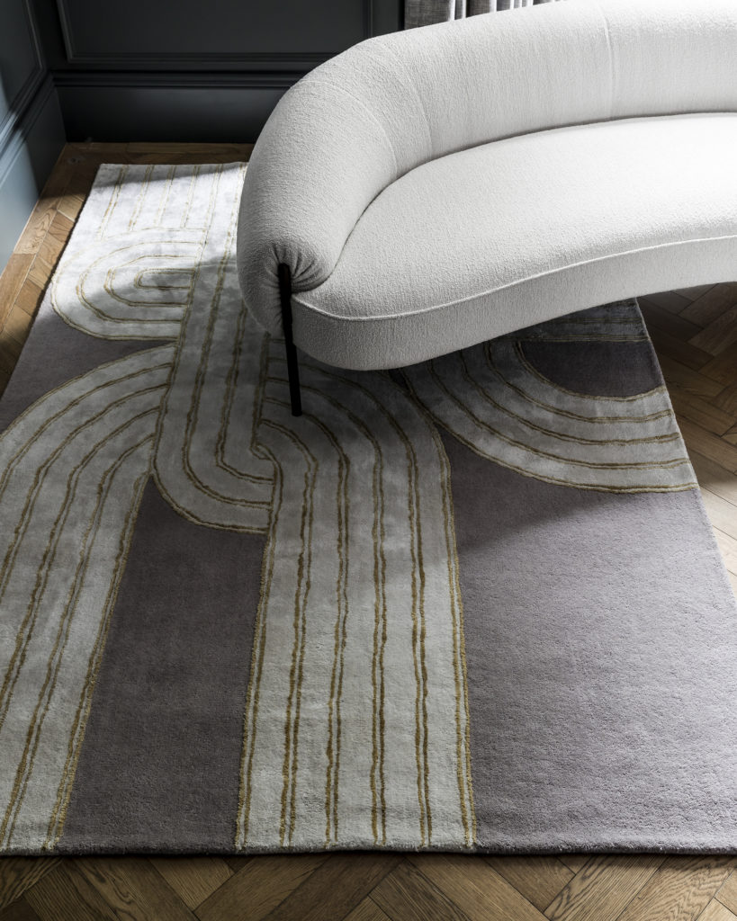 The Knot Rug by Genevieve Bennett, part of the Heal's AW19 collection