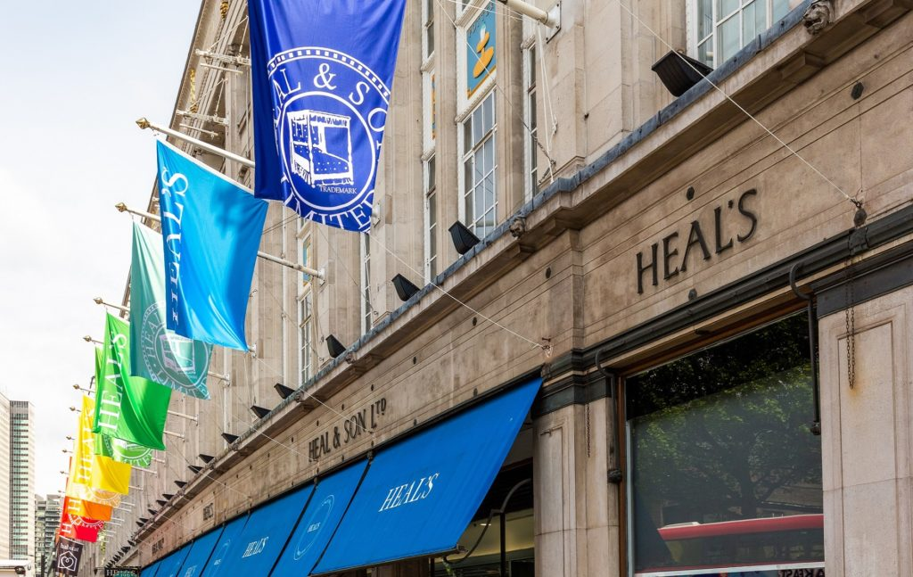Heal's x Slade at the Mansard Gallery | LDF 2019 celebrations on Tottenham Court Road