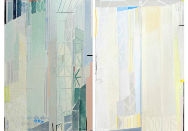 Johanna Badou 'Untitled Window #3 & #4' | Heal's X Slade School of Fine Art
