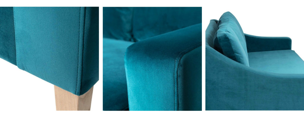 Richmond Sofa in teal