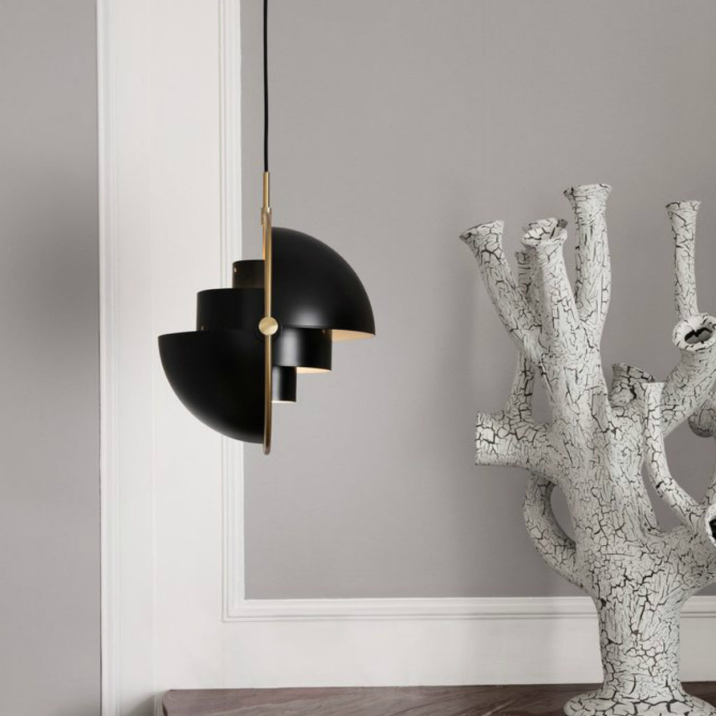 Multi-Lite Pendant in matte black