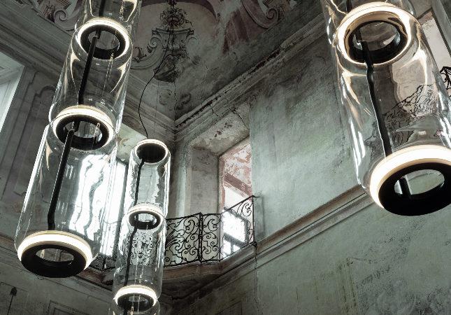 Trio of Noctambule Pendant Lights