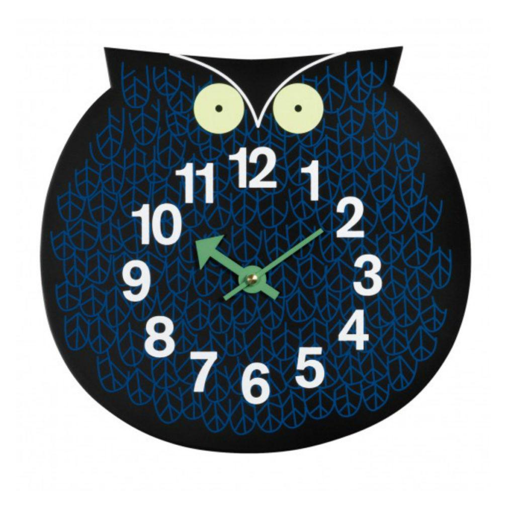 Omar The Owl Clock