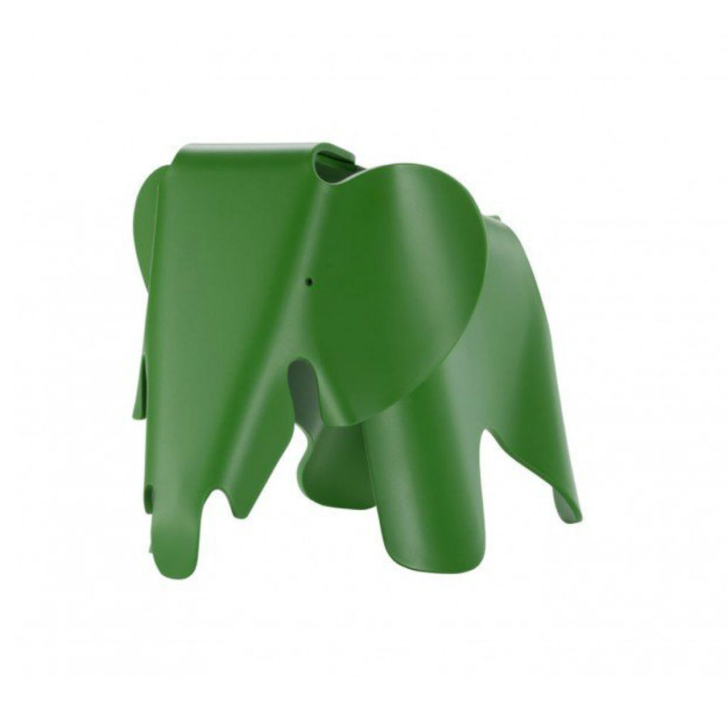 Small Eames Elephant in green - a great Christmas gift for kids