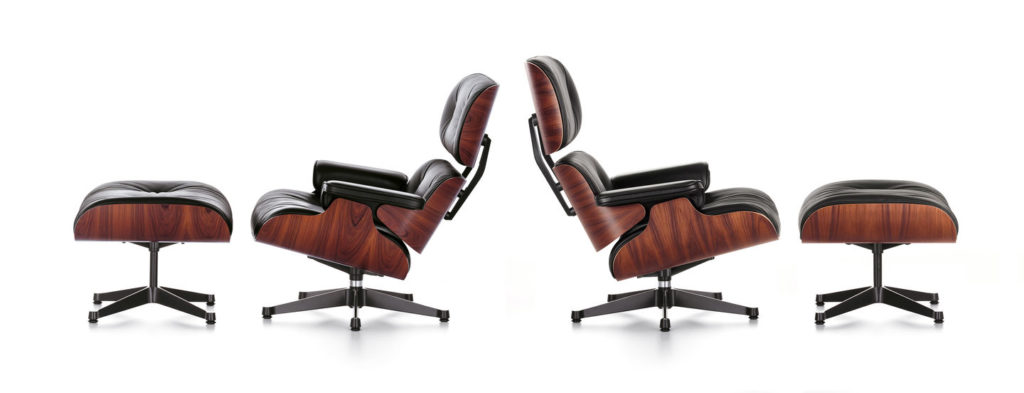 Eames Lounge Chair Tall v Classic | Image courtesy of Vitra