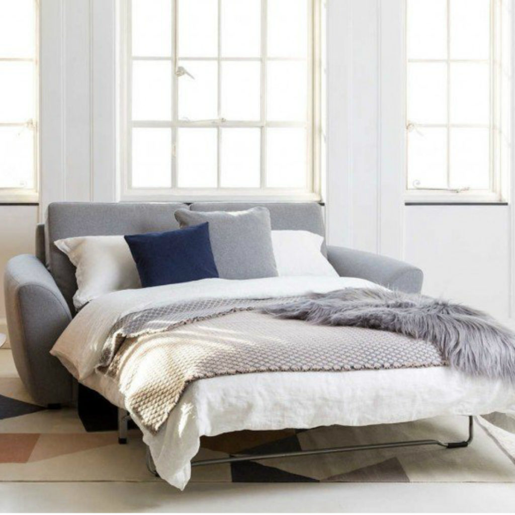The Snooze Sofa Bed with a pocket-sprung mattress