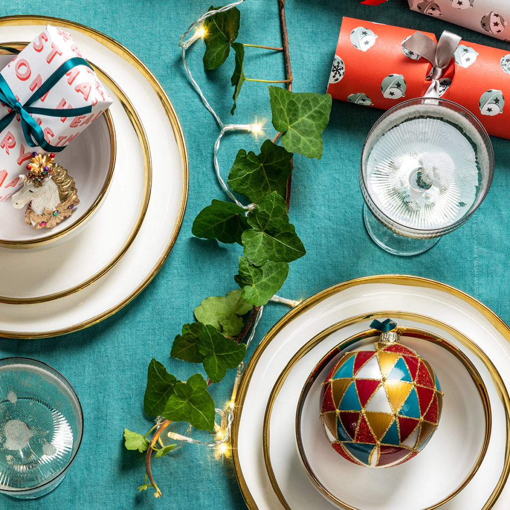 Christmas decoration ideas for tables