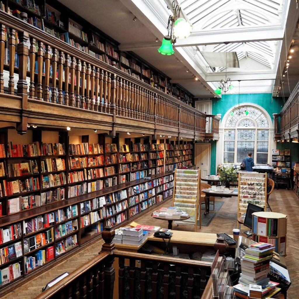 Daunt Books | Image courtesy of Ungry Young Man via Danubius Hotels