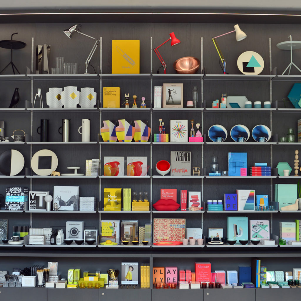 One of our favourite Christmas gift shops, the Design Museum Shop | Image courtesy of the Design Museum