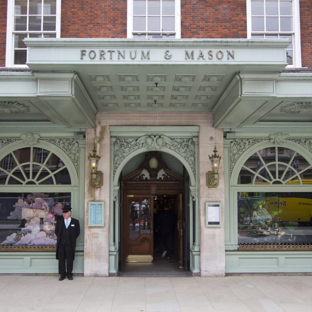 Fortnum & Mason Gift Shop   Image courtesy of JanKranen via Londontopia