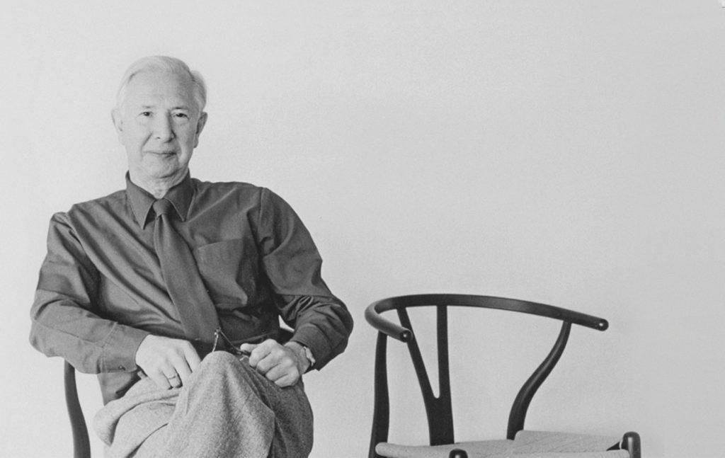 Hans J. Wegner and the Wishbone Chairs he designed