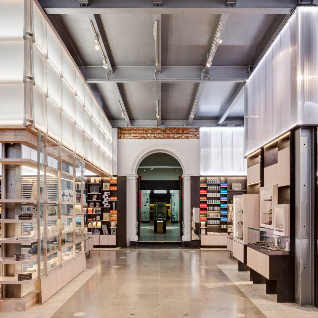 Victoria and Albert Museum Gift Shop | Image courtesy of Ed Reeve via Dezeen