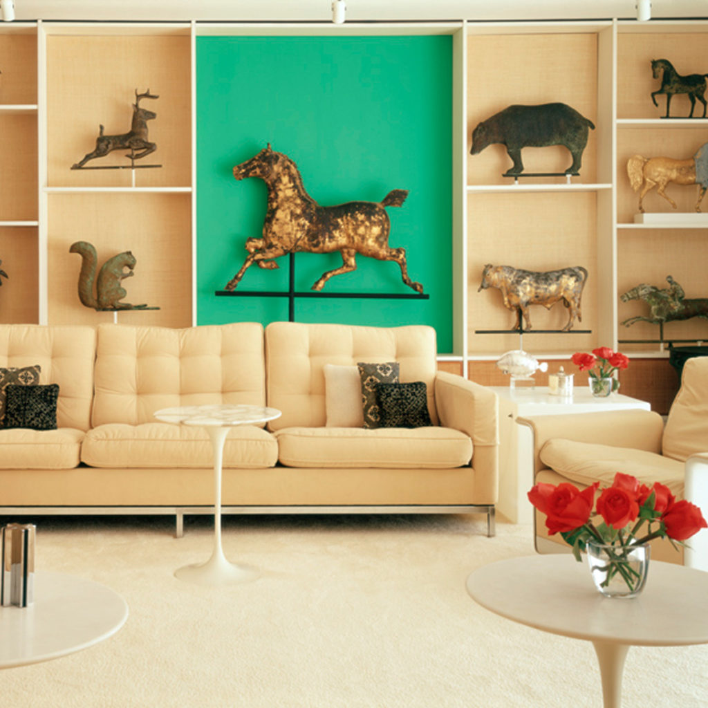 Florence Knoll Bassett's mid-century living room, Coconut Grove, Florida, 2003 by Todd Eberle