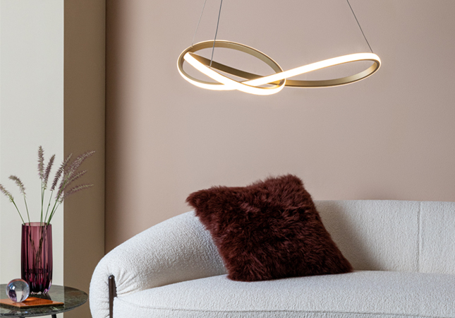Ribbon Pendant Light with integrated LED technology featured image