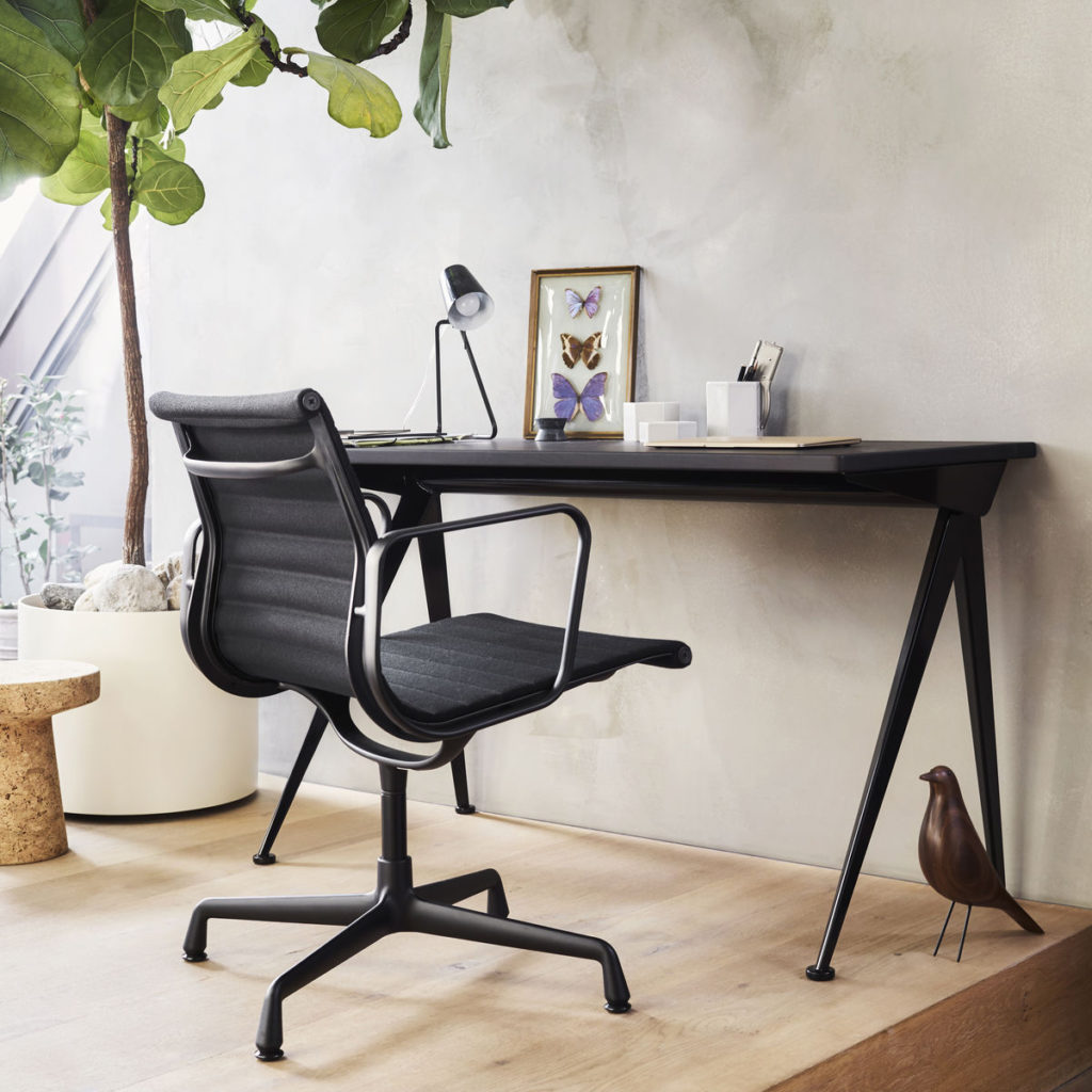 Vitra EA 108 Office Chair in a workspace