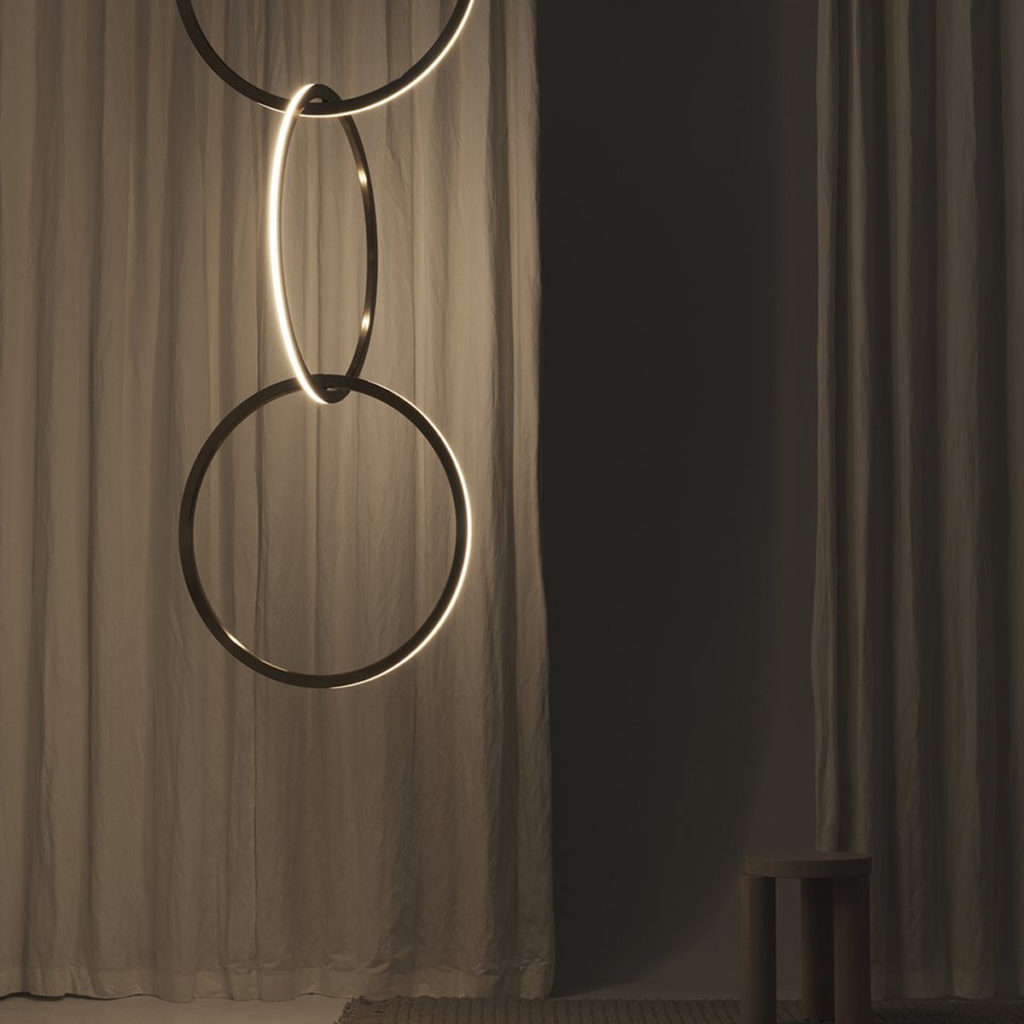 Circus Pendant Light with integrated LEDs