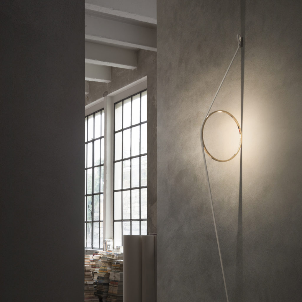 Wirering Wall Light with integrated LEDs