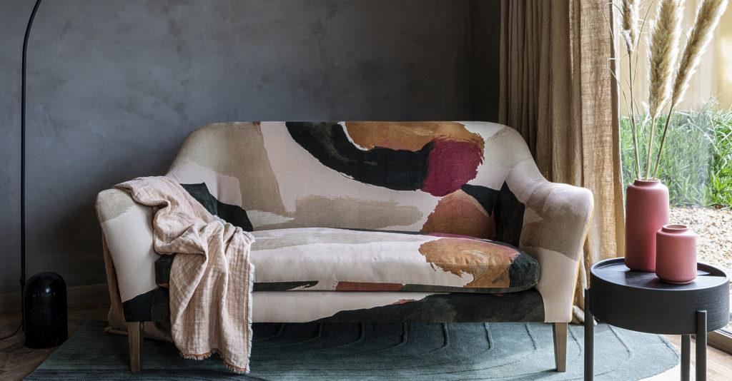 One Nine Eight Five's upholstery on the Wallis Sofa