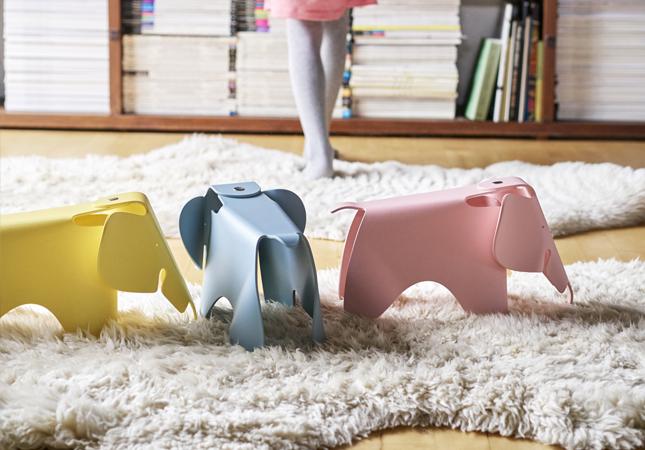 Vitra's Small Eames Elephants