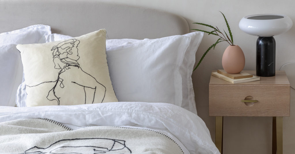 Changing your bed linen regularly is essential during quarantine