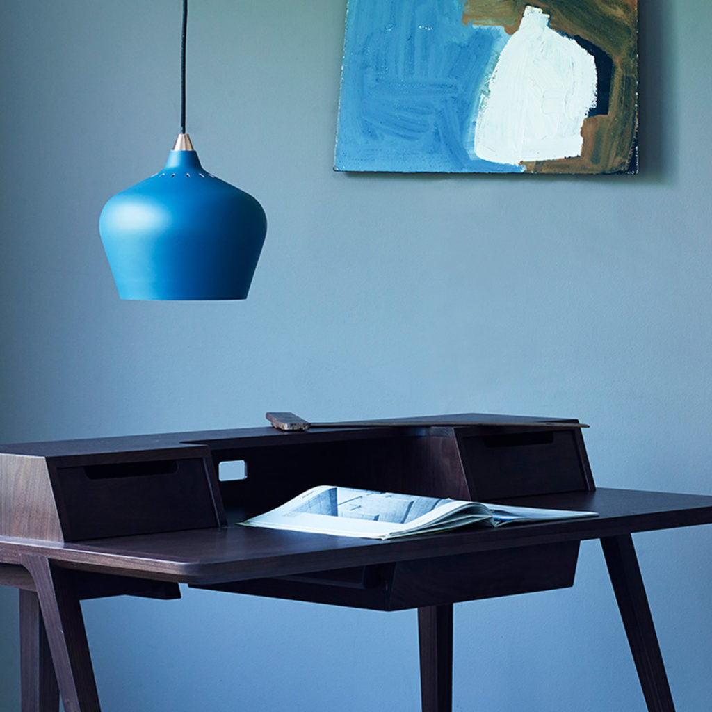 Cohen Pendant Light in a working from home workspace