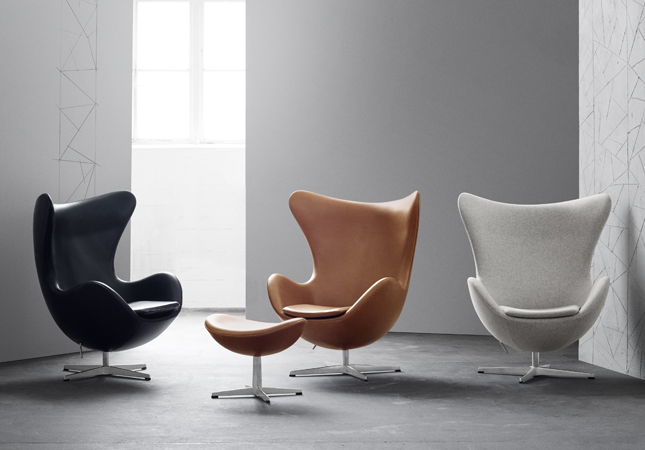 Fritz Hansen Egg Chair - Featured in the Heal's furniture pub quiz
