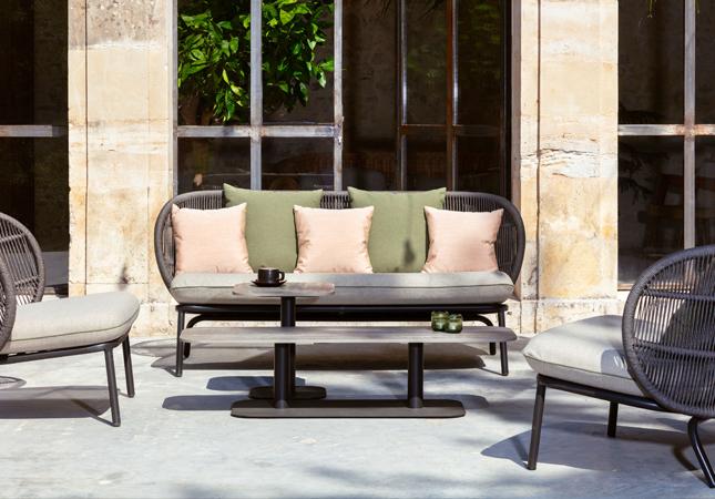 Kodo Modern Garden Sofa by Vincent Sheppard